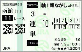 2017_2hakodate3_11r_trifecta