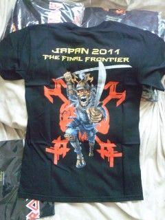 IRON MAIDEN Tシャツ