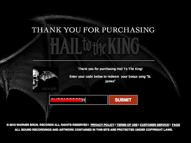 avenged sevenfold hail to the king a7x download 1 voltagebd Gallery