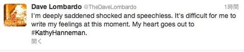 Dave Lombardo Twitter