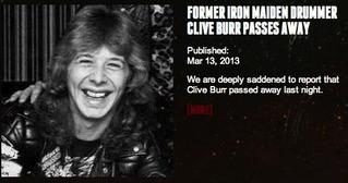 Clive Burr