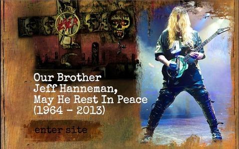 SLAYER - Jeff Hanneman