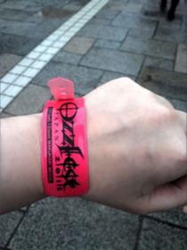 Ozzfest -Wrist Band
