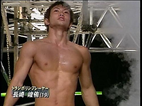 長崎峻侑 ∩ ( ゚∀゚)彡 筋肉!筋肉! ⊂彡 やっぱ筋肉はいいなぁ(*´Д`...  まっす