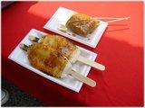 味噌田楽と五平餅
