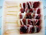 オオヤミート黄金豚(三元豚)豚串(やきとり生・豚肉+玉ねぎ)