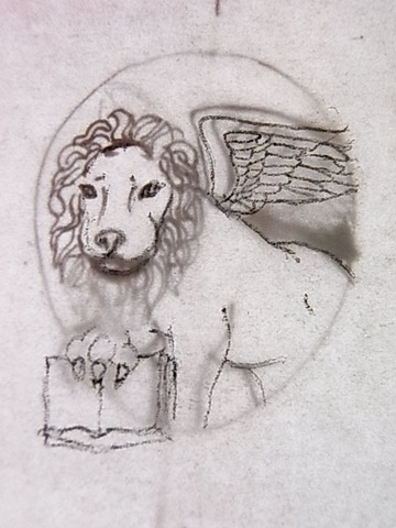 ライオンデザイン画2