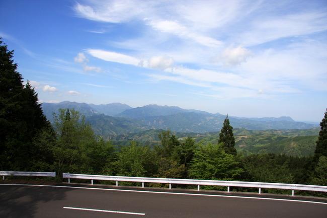 六峰街道 山神展望台からの景色 その2