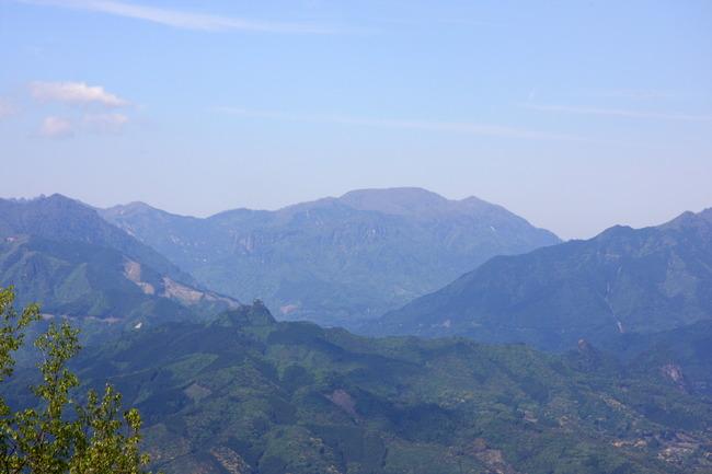 六峰街道 山神展望台からの景色