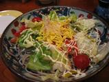 そばやのサラダ
