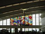 那覇空港のステンドグラス