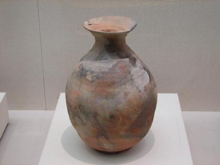 野焼きの大壺