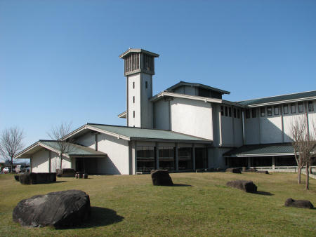 愛知県陶磁資料館の外観