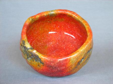 窯変紅葉茶碗