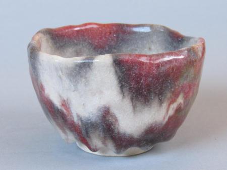 窯変茶碗−冬