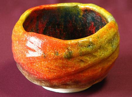 紅葉茶碗「七彩」 通販ショップ