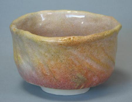 窯変桜茶碗