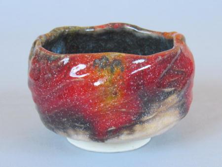 窯変茶碗−秋