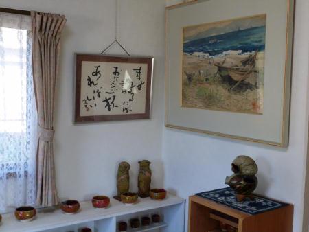 陶芸作品や絵画など