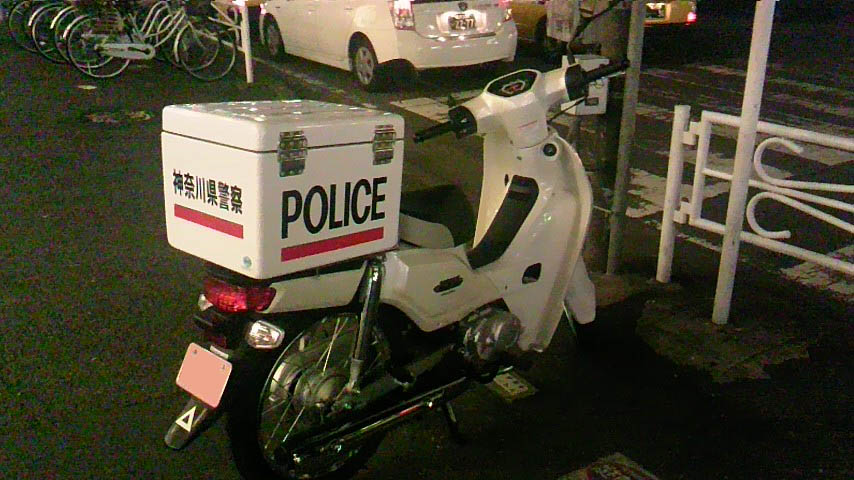【偽装】白バイか!? 紛らわしすぎる「神奈川県民」のバイク 妙にカワイイ