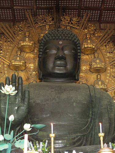 【また禿の話】 奈良の大仏の髪の量、半分だった!レーザー解析画像アリ【悲報…か?】