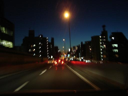 夜中にひとりで目的もなくドライブするのが好きなんだが