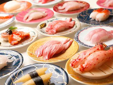 【画像】大阪・道頓堀で巨大回転寿司 ドヤ!これが本場大阪の笑いや!オモロイやろ!笑えや!
