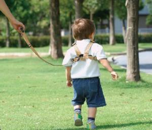 【賛否両論】子ども用リードの使用がペット感覚であると嫌悪感 ネット識者「ペットみたいな名前つけるくせに」