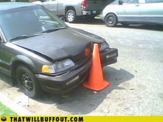 違法駐車等に個人的制裁を加える方法