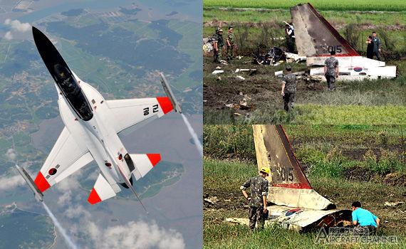 韓国が誇る超音速訓練機が墜落し真っ二つ!これ今度フィリピンが買うやつ…