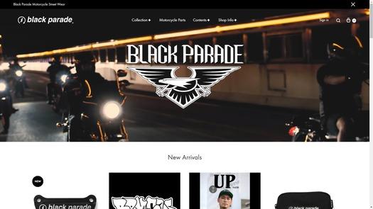 black paradeさんHP