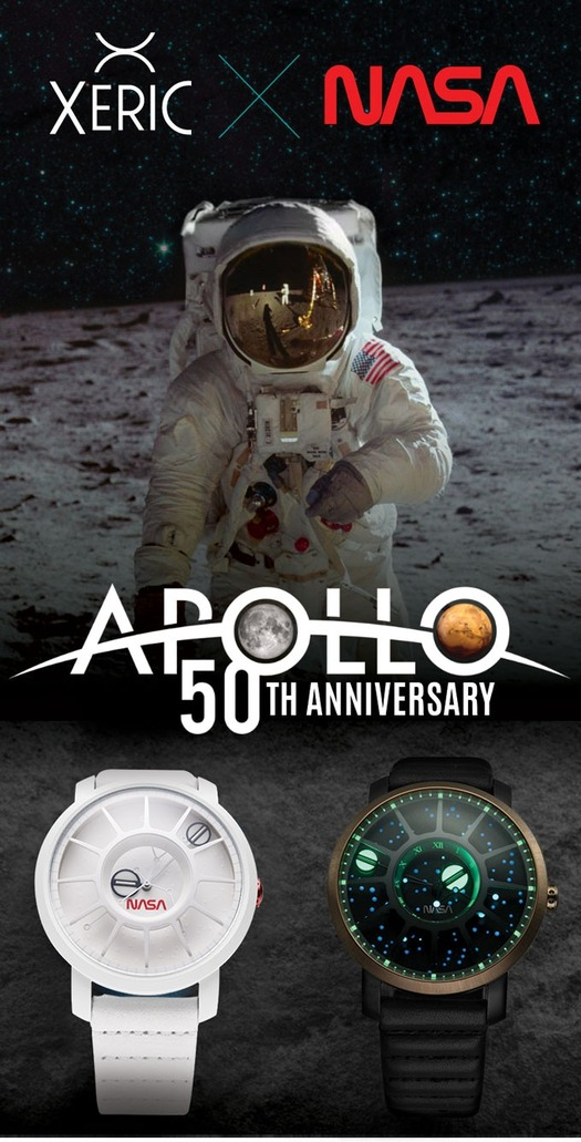 NASA 50th Anniversary Apollo 11 Automatic Watch