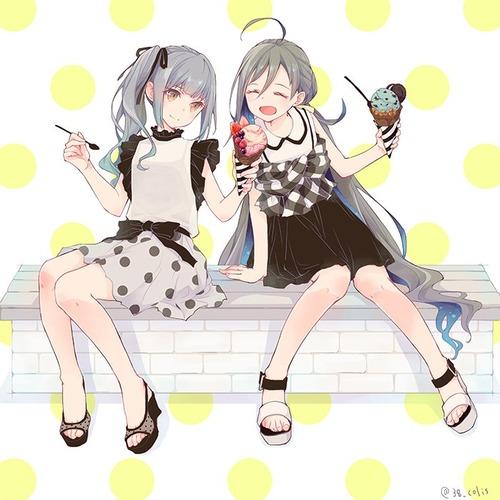 【艦これ】夏の霞ちゃんと清霜 他