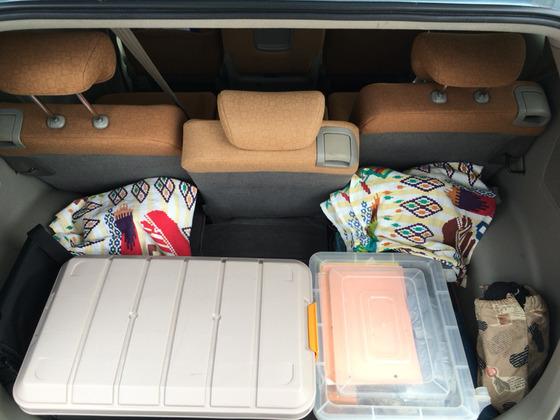 ホンダ:エディックス トランク広い