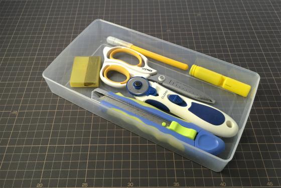 ダイソー:Stationary & Tool Box