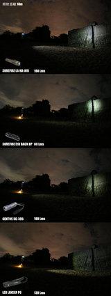 10mより壁を照射