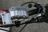 まるでモーターサイクルのエンジン。
