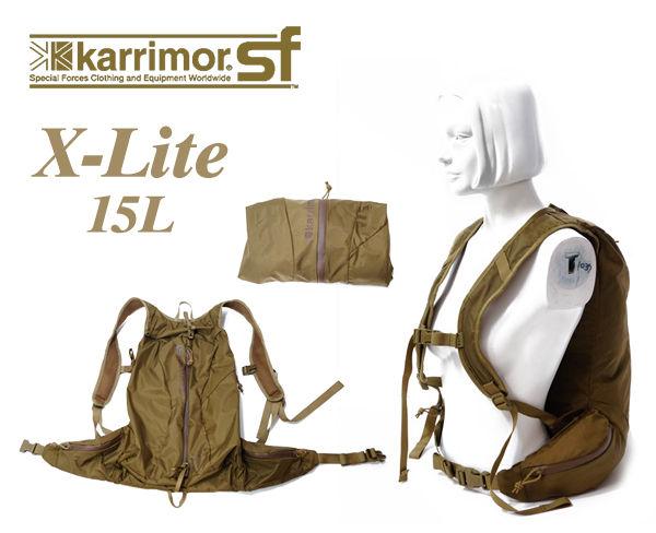 86c132058b09 karrimor sf (カリマーsf) X-LITE 15 折り畳み可能 ドライサック 15L ...