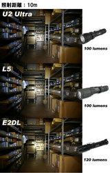 U2 vs L5 vs E2DL