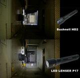 屋外 HD2 vs P17