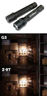 RAYSVISION Z-9TとSUREFIRE G3との比較