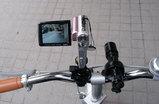 これで自転車に乗っての照射撮影が可能に!