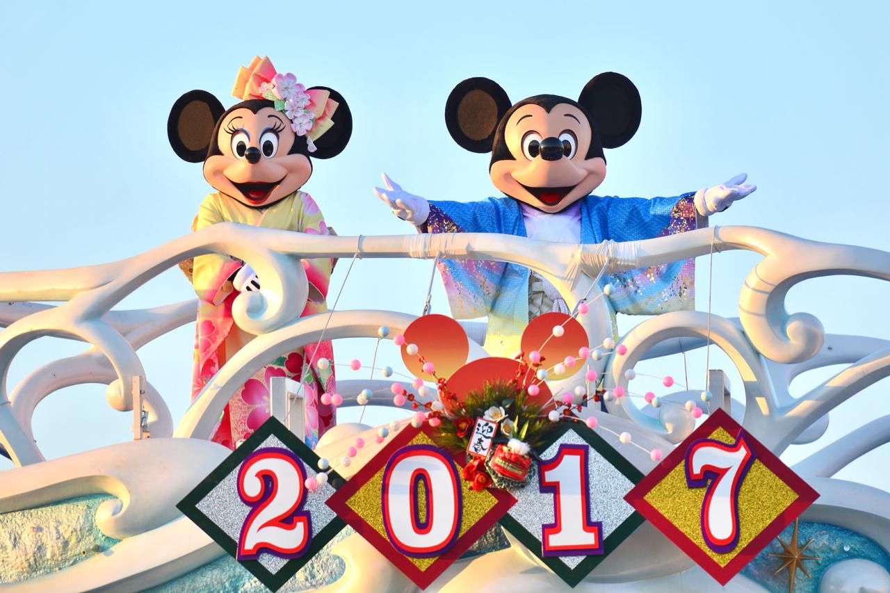 ディズニーシーのお正月 : あかりとうたのディズニー日記