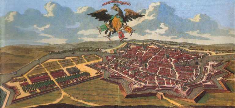 ベルリンの古地図(3)1688年 : 晩興想