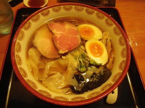 神楽(金沢)・神楽そば 1050円