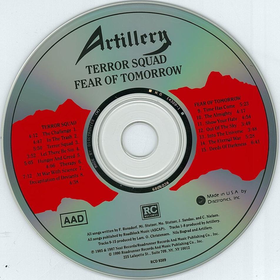 artillery terror squad pics