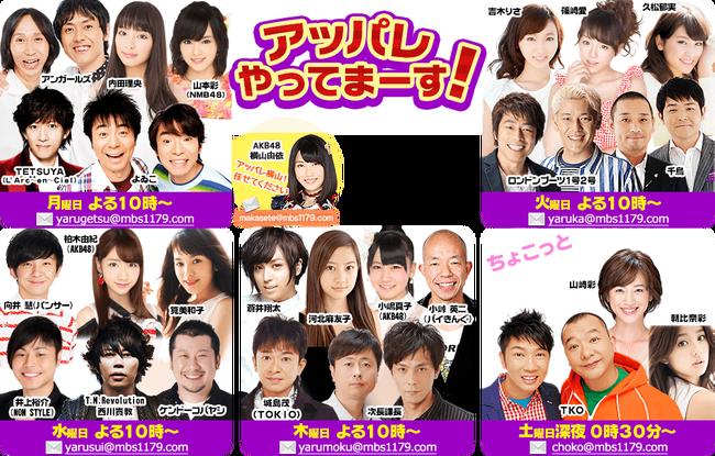 【速報】「アッパレやってまーす水曜日」柏木由紀のレギュラー継続確定で、AKB48卒業も一年間回避か?