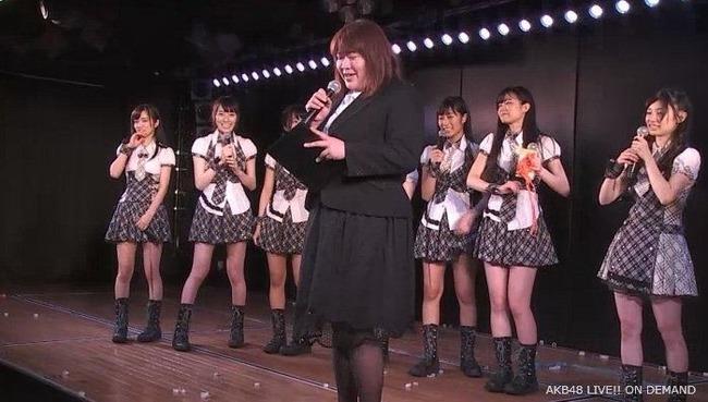 【AKB48】茅野しのぶ「本日、スタッフ大組閣によりAKB内部の人事移動があった」