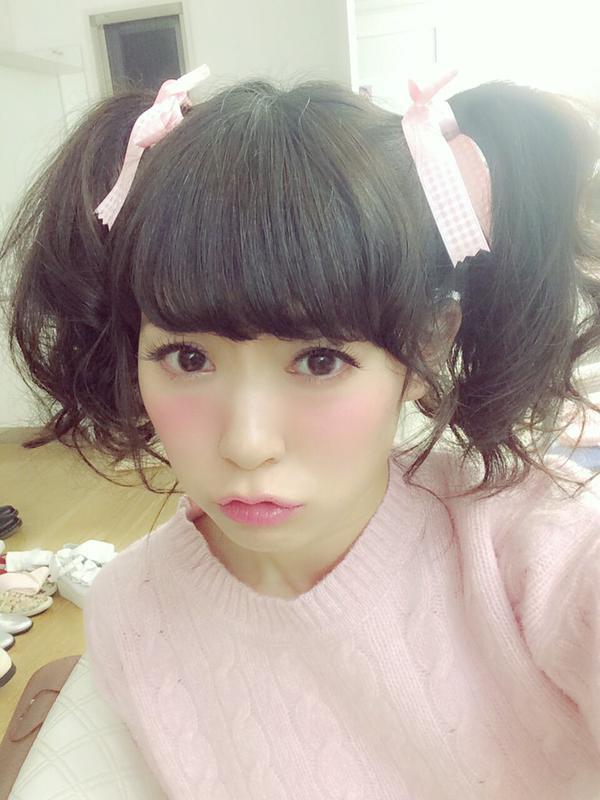 【NMB48/SKE48】渡辺美優紀「ツインテールだにゃ。 そいえばエクステはずしたのです。」【みるきー】