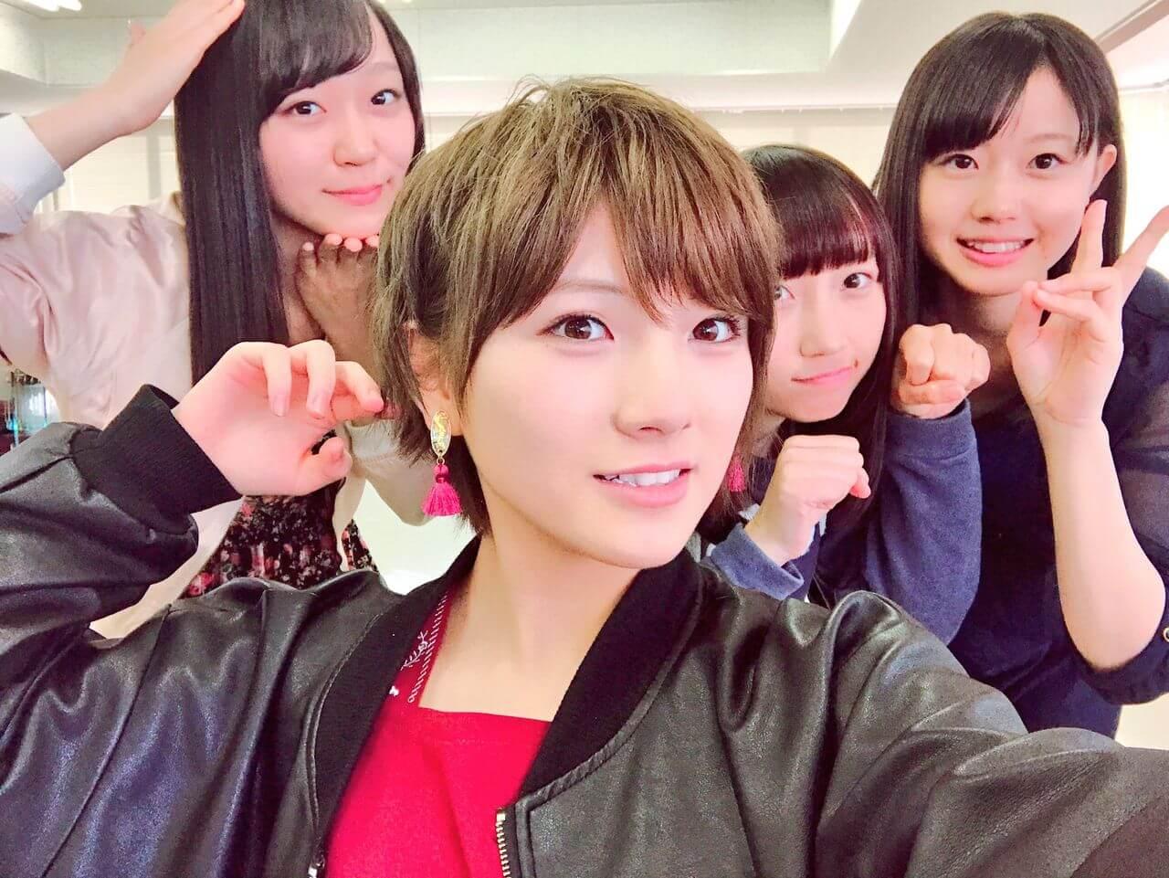 岡田奈々「今日は(STUの)かわいこちゃんたちに 襲われました。しあわせ おほほほ」【AKB48STU48】 他